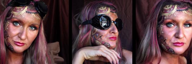 Steampunk Face Painting Tutorial