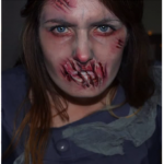 First Lady Zombie Halloween Makeup Tutorial