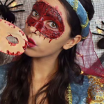 Skinned Masquerade Mask Makeup Tutorial