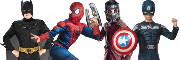 Top 10 Superhero Costumes for Kids