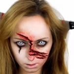 Gory Zombie Makeup Ideas for Halloween