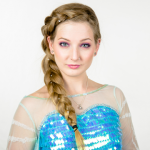 Elsa Frozen Makeup Tutorial by Elsa Rhae