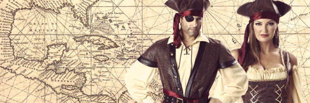A History of Pirates and Pirate Costumes