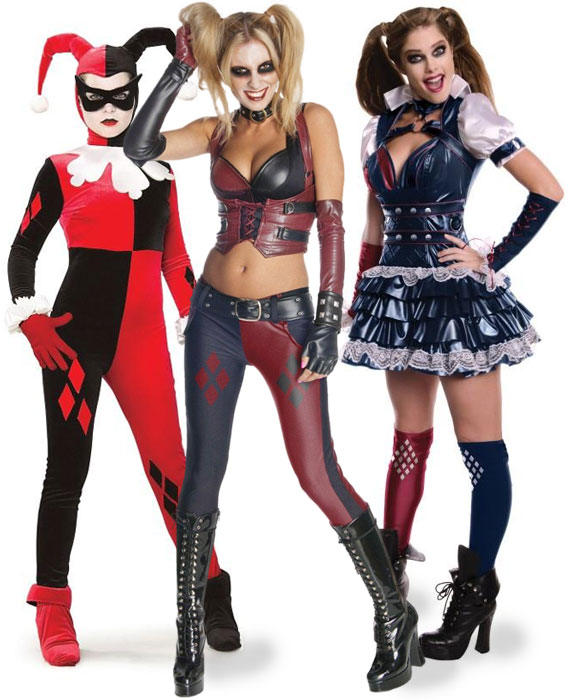 Harley Quinn Villains Group Costume Ideas