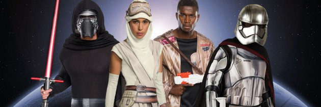The Must-Have Star Wars VII Costumes for Halloween 2015