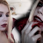 Sexy/Scary Vampire Makeup Tutorial by Miranda Hedman