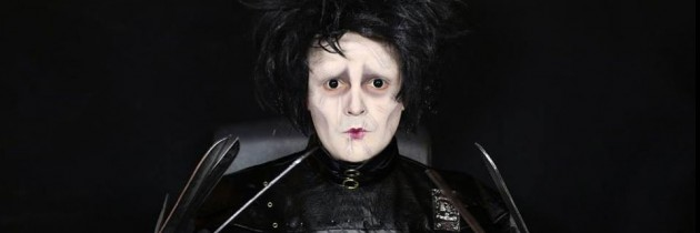 Edward Scissorhands Makeup Tutorial by Charlie Short