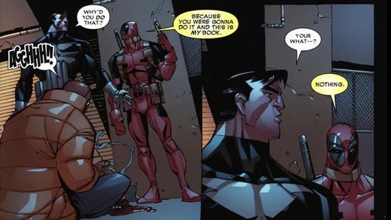 deadpool this is my book punisher