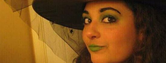 Sassy Wicked Witch Eye Makeup